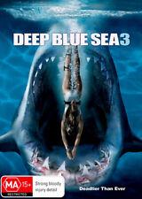 Deep Blue Sea 3 - DVD Region 4