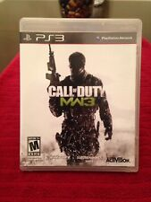 PS3 Call of duty MW3 Modern Warfare 3, Infinity Ward 2011, Play tested