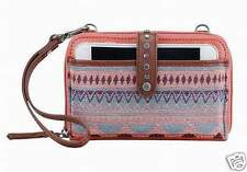NWT The Sak Smartphone Wristlet Wallet Crossbody Guava Patch iPhone 6 SHIP INT'L