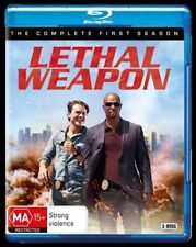 Lethal Weapon : Season 1 (Blu-ray, 3-Disc Set) NEW