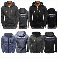 NFL Minnesota Vikings Football Hoodie Sweatshirt Jacket Rugby Coat Gifts to Fans