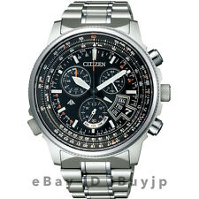 Citizen Promaster Sky BY0080-57E Eco-Drive Solar Atomic Perfex Multi 3000 Watch