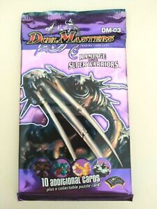 DUEL MASTERS TRADING CARD GAME RAMPAGE OF THE SUPER WARRIORS  DM-03