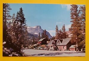 Vintage 60's TIOGA PASS RESORT YOSEMITE NATIONAL PARK Postcard