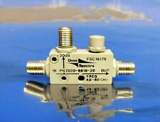Omni Spectra 16179 2020-6618-20 RF Coaxial Directional Coupler 8 GHz Untested