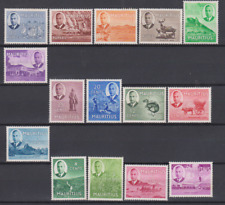 Mauritius 1950 Mint Mounted Set to 10r