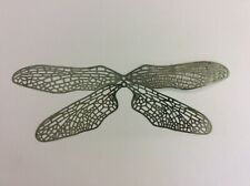 Stained glass tools/supplies Brass filigree wings 2 sets of four e