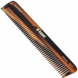 Kent R5T Fine Tooth Comb for Hair Care/Parting Comb and Combs for Men