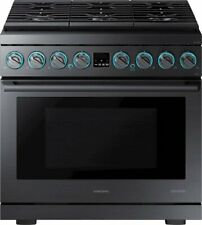 Samsung Chef Collection Ny36R9966Pm 36 Inch Smart Slide-In Duel Fuel Pro Range
