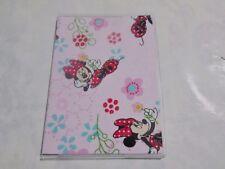 Minnie Mouse Passport Cover Fabric + Vinyl Custom Handmade Disney Vacation kids'