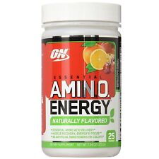 Optimum Nutrition Essential All Natural Amino Energy FREE, 25 Serves FRUIT PUNCH
