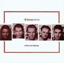 BOYZONE : WHERE WE BELONG / CD - TOP-ZUSTAND