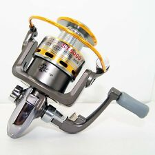Pescar Caña Aparejos 8BB  Spinning Fishing Reel  5.1:1  Aluminum Spool ST5000A