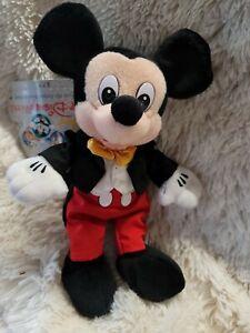 2000 Park Costume Mickey Mouse Disneyworld mbbp bean bag plush