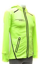 New Balance Cannondale Drapac Team Flex X Fleece Jacket Women MEDIUM Neon Green