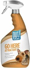 Out! Go Here Attractant Indoor & Outdoor Dog Training Spray Housetraining 32 Oz