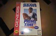 # Sega Mega Drive-NFL prime time us-Import-nuevo & soldado #