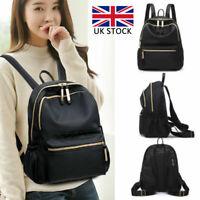 Women Girls Ladies Oxford Backpack Rucksack Travel Shoulder College School Bags