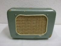 50er Jahre Lautsprecher Isophon Isonetta Metallic grün Mid Century 50s