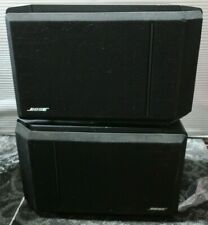 Bose 301 Series Iv Direct Reflecting Speakers Black Pair (Subwoofers Replaced)