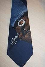 Ralph Lauren POLO western vintage 90's silk tie NWT