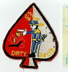 Vietnam War US Army 2nd / 17th DIRTY DELTA Air Cavalry Cav Shoulder Patch Nam