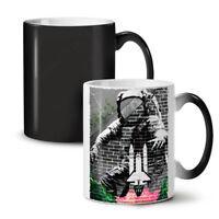 Graffiti Space Fashion NEW Colour Changing Tea Coffee Mug 11 oz | Wellcoda