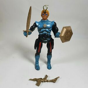 Prince Dargon Sectaurs Vintage Action Figure 7 Towns 1984 w/Weapons