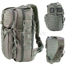 Sling Pack Chest Over the Shoulder Backpack Men Tactical Travel Hiking Molle Bag