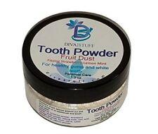 Fruit Tooth Powder 4 Whiter & Healthier Teeth W/ Strawberry Powder,Diva Stuff