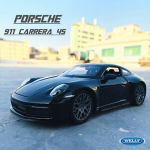 Porsche 911 Carrera 4S (992) 1:24 Scale Model Car Diecast Toy Vehicle Gift US