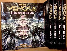 Illuminatus by Robert Venosa (2006, Hardcover) Terence McKenna Visionary Art NEW