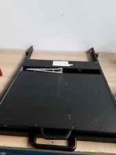 KDR-115XX ROSE ELECTRONICS 1U RACKMOUNT CONSOLE WORKING