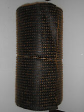 Mulchmatte, 25m x 1m, Biomatte,  Mulchfolie, Kokosmatte, Anti-Unkrautvlies