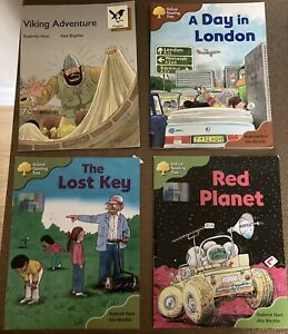 Oxford Reading Tree Books X4 Stage 7 & 8.