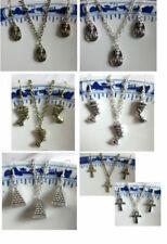 Collares y colgantes de bisutería colgantes de bronce de color principal plata