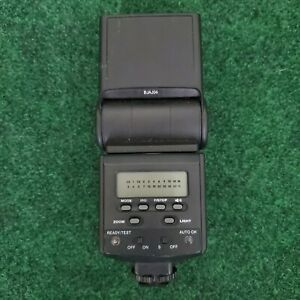 Bower SFD926O Power Zoom Flash Dedicated TTL For Olympus Nikon Canon Cameras