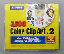 Vintage Expert 3500 Color Clip Art # 2 CD