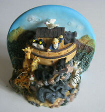 Noah'S Ark~Bookend~Christian Bible Old Testament~Animals~Collect ible~3D Figurine
