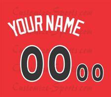 2017 todas las estrellas de la Liga Nacional de Béisbol Camiseta Personalizado Número De Kit sin costura