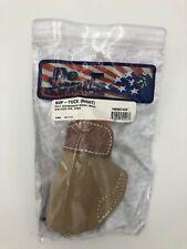 Desantis Sof Tuck Holster No-Slip Suede w/Premium Saddle Leather Top 106NA74Z0