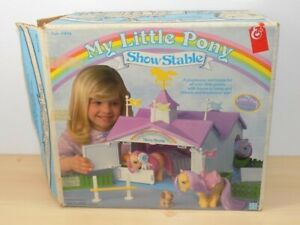 Vintage 1983 My Little Pony Show Stable in the Box Some parts not included.