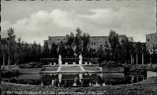 Den Haag Niederlande s/w AK 1939 Holland Zuiderpark met Jan Ligthart monument