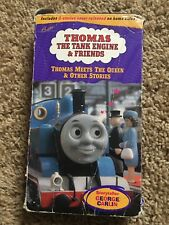 Thomas the Tank Engine Meets the Queen and Other Stories VHS 1997 George Carlin