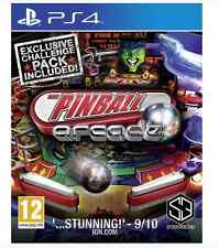 Pinball Arcade with Exclusive Challenge Pack (Season 1, Playstation 4 )