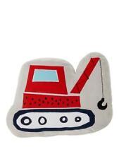 Boys Bedroom Cushions - Digger / Crane Cushion - 40 x 32 cm - Nursery Playroom
