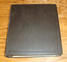 Original 1979 Chevrolet Dealer Service Information Bulletin Album 79 Chevy