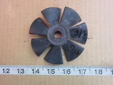 "3½"" Dia 7/16"" Bore Dia CW 7-Blade Plastic Fan Blade, Used"