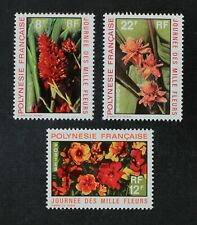 CKStamps: France Stamps Collection French Polynesia Scott#264-266 Mint H OG