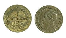 pci1693) Regno d Italia Vittorio Emanuele II  Centesimi 1 Valore 1867